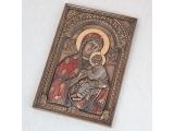 """Панно - икона """"Дева Мария и Иисус"""""""