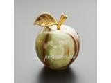 Яблоко из оникса камня большое