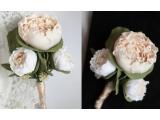 Butonieră nuntă căsătorie pentru mire,prietenii mirelui lucrat manual