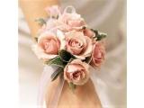 Butonieră nuntă căsătorie pentru mireasă  lucrat manual