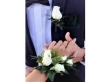 Набор бутоньерок для жениха и невесты , свидетелей