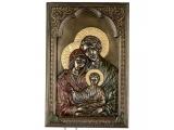 """Panou - icoană """"Sfânta Familie"""" (16*23 cm) Veronese"""