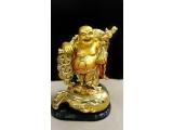 Statuetă Buddha pentru fericire și bogație (al doilea nume - Hotei)