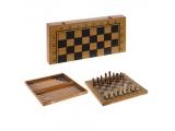 Игра настольная 3 в 1 (шахматы, шашки, нарды)