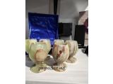 Set 6 Pahare din piatra naturală Onix