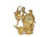 """Интерьерные часы """"Ангелочек с луком"""""""
