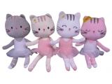 Jucărie moale, drăguță - balerină Kitty